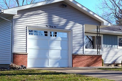 Steel Recessed Panel Garage Door Color Glass And Window Options