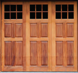 Real Wood Garage Door Artisan Custom Door Works